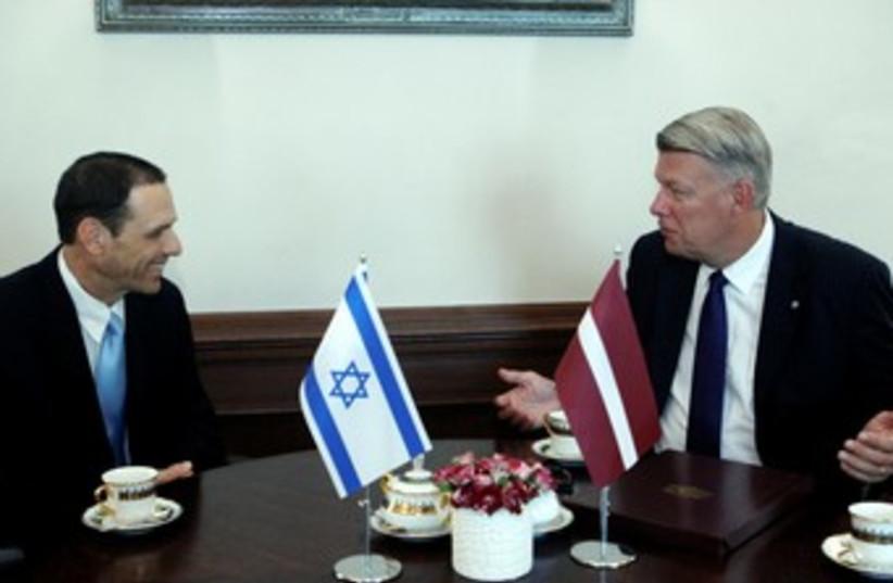 Chen Ivri Apter (photo credit: Latvia Presidency)