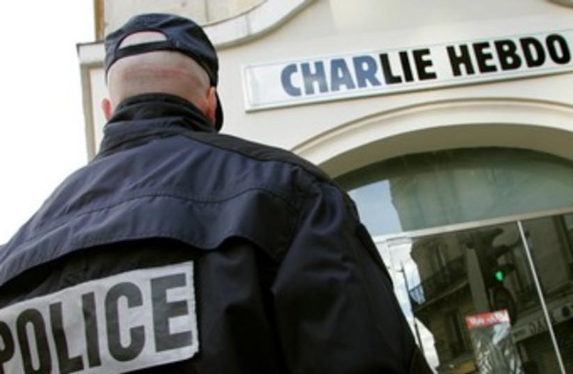 Charlie Hebdo (photo credit: Reuters)
