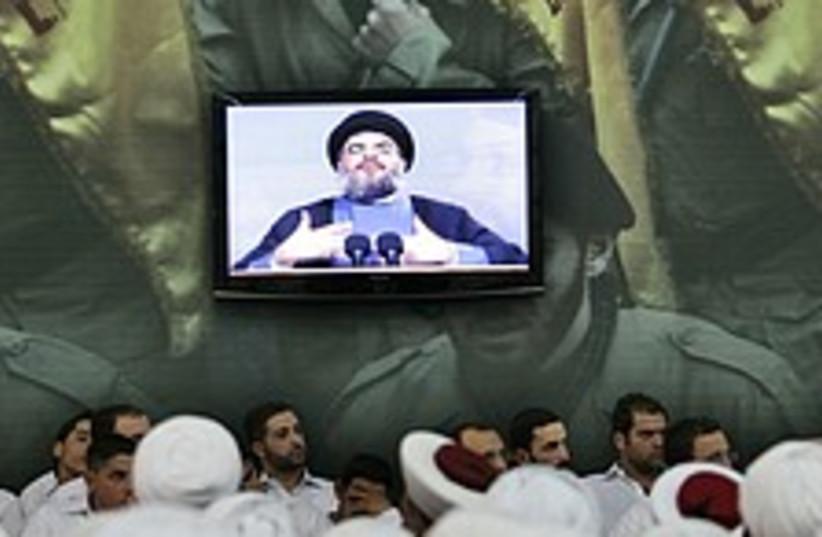 nasrallah speech 224.88 (photo credit: AP)