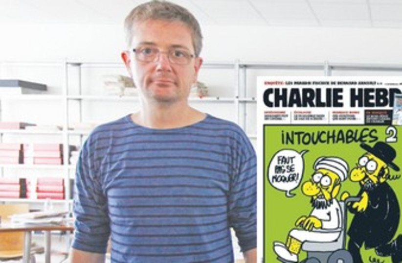 FRENCH CARTOONIST Charb 370 (photo credit: REUTERS)