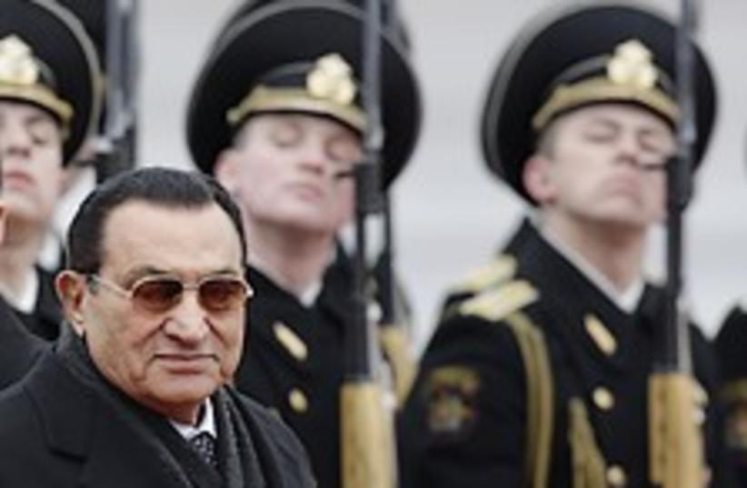 mubarak moscow 224 ap (photo credit: AP)