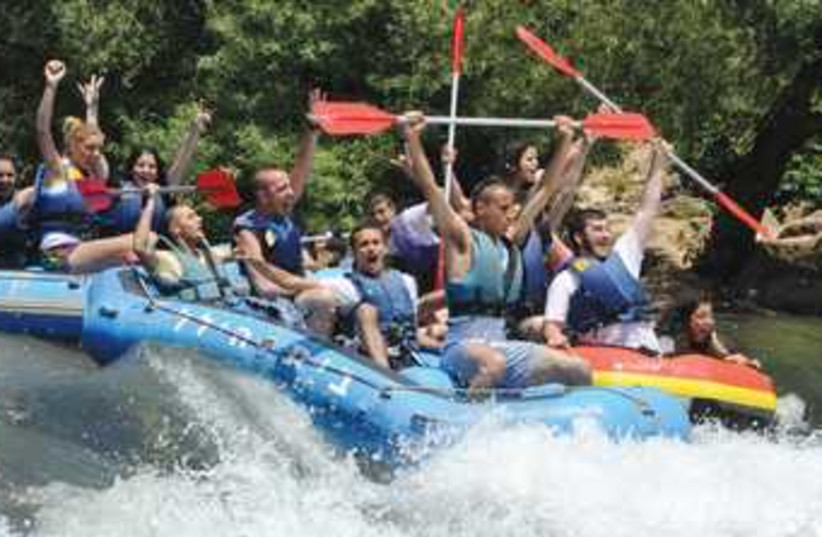 Kfar Blum kayaks (photo credit: Courtesy)