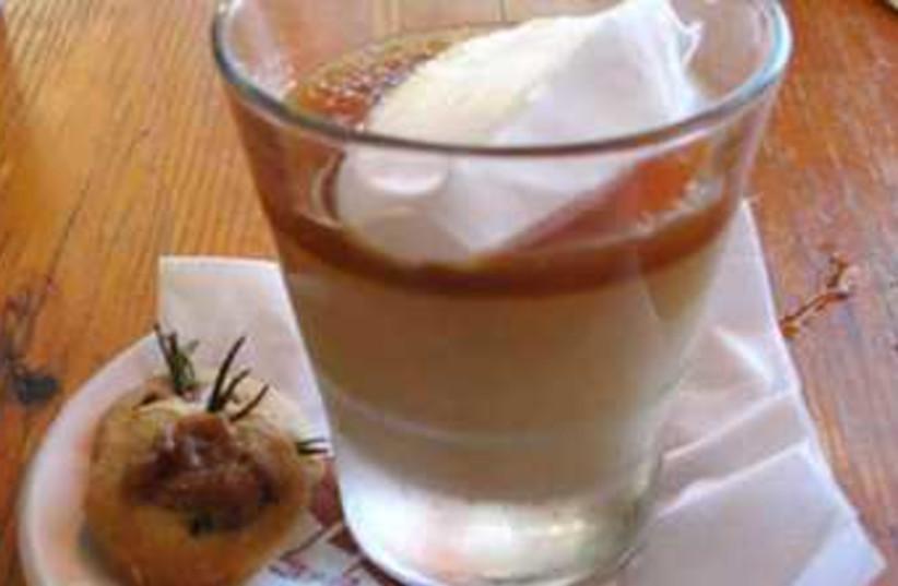 Budino pudding (photo credit: Laura Frankel)