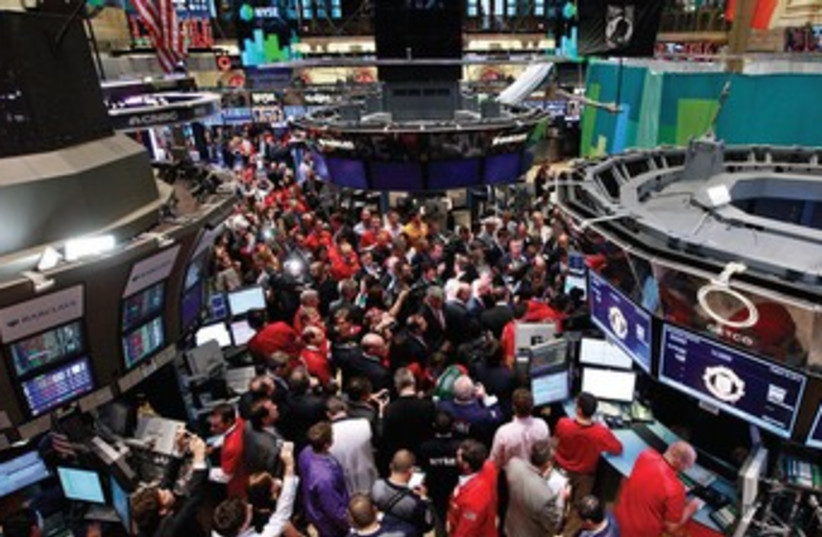 New York Stock Exchange R370 (photo credit: BRENDAN McDERMID / REUTERS)