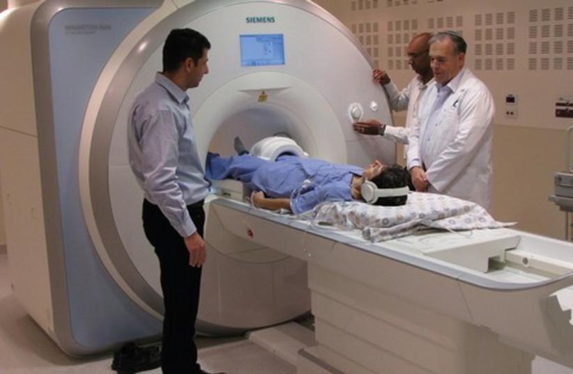 MRI Scanner at Shaare Zedek Medical Center 521 (photo credit: www.szmc.org.il)