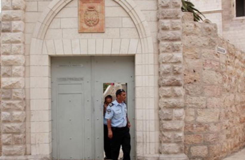 Fransican Convent on Jerusalem's Mount Zion