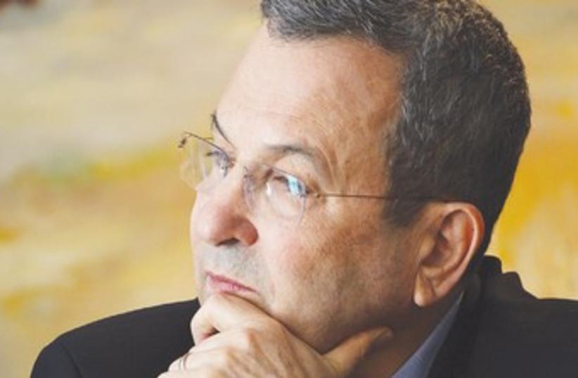 Ehud Barak (photo credit: Marc Israel Sellem/The Jerusalem Post)
