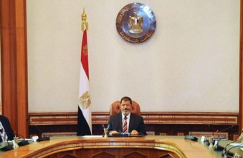 Mohamed Morsy (photo credit: Reuters)