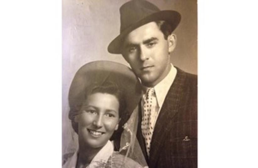 Daniel Eisenbud's late grandparents 370 (photo credit: The Greenspan Family)