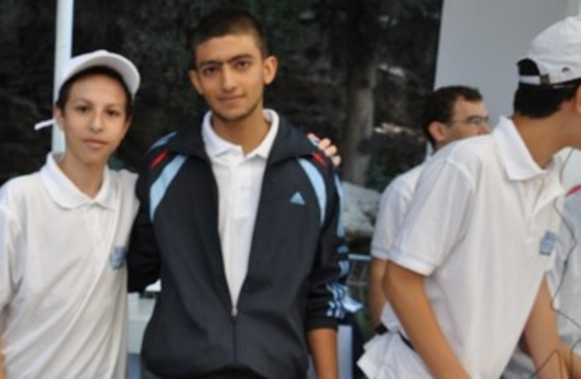 Shoham Behar (left) and Joseph Mouallem (right) 370 (photo credit: Danielle Ziri)