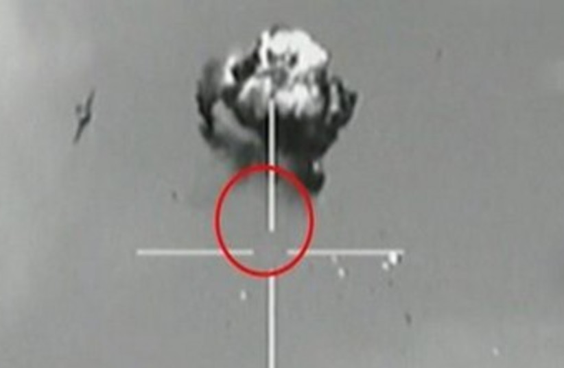 IAF shoots down UAV 370 (photo credit: IDF Spokesman's Office)
