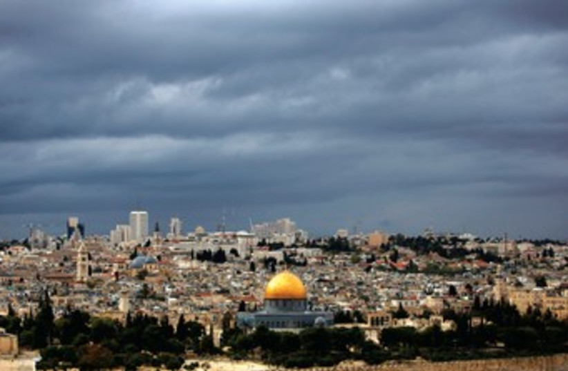 Dome of the Rock 370 (photo credit: REUTERS)
