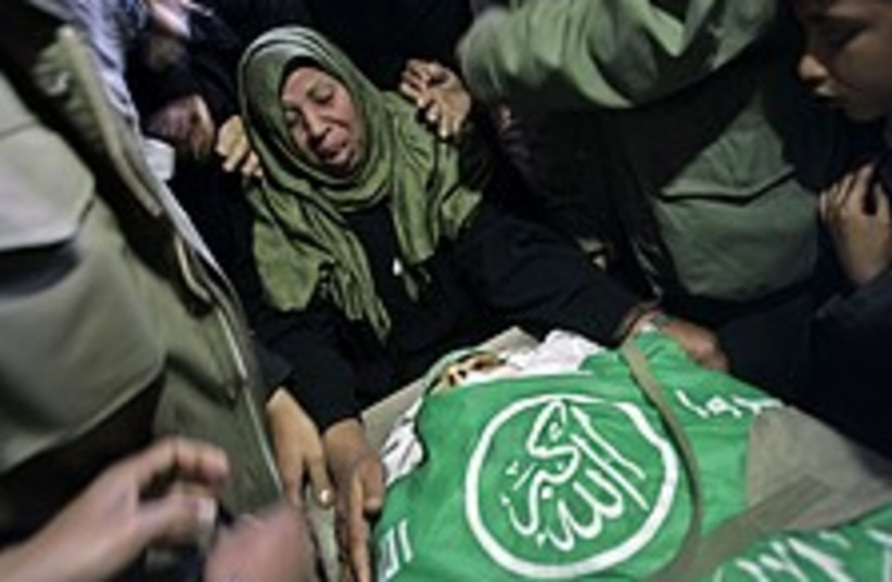 hamas mourners 22488 (photo credit: )