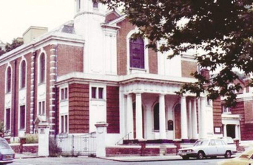 Egerton Road Synagogue 370 (photo credit: David Newman)