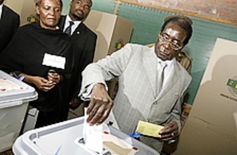 Robert Mugabe 224.88 (photo credit: AP)