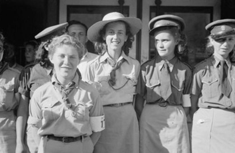 Recruits  (photo credit: American Colony-Jerusalem-Photo Dept.)
