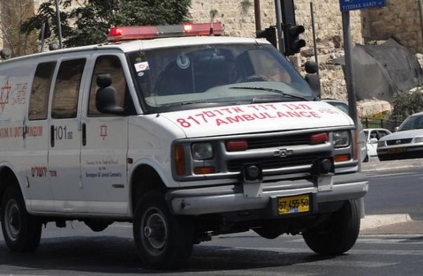 MDA Ambulance (photo credit: WIkicommons)