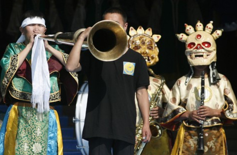 International Asian Music Festival (photo credit: Reuters)