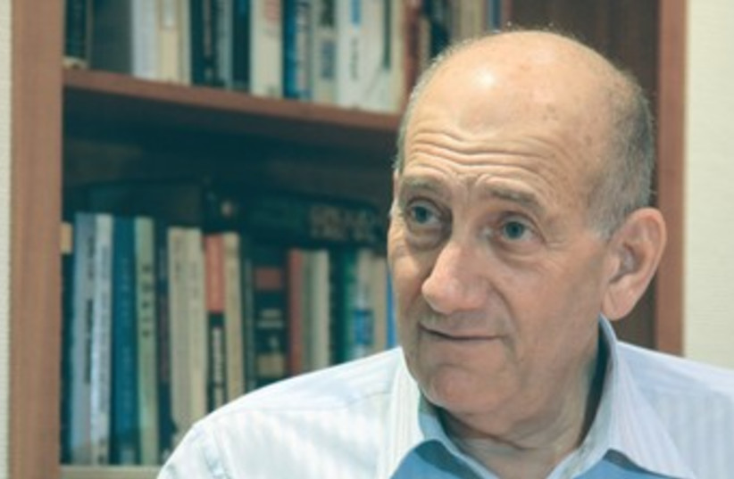 EHUD OLMERT 370 (photo credit: Marc Israel Sellem/The Jerusalem Post)