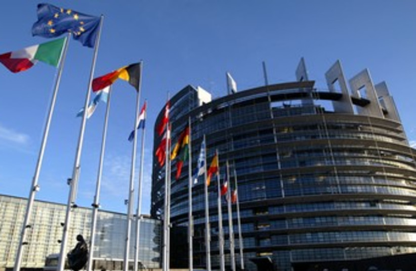 EU building 370 (photo credit: REUTERS/Vincent Kessler)