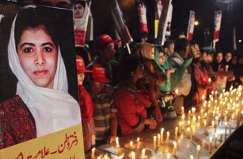 Malala Yousufzai (photo credit: REUTERS/Mohsin Raza)