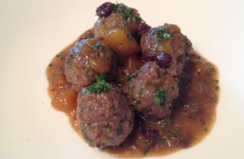 Meatballs (photo credit: Laura Frankel)