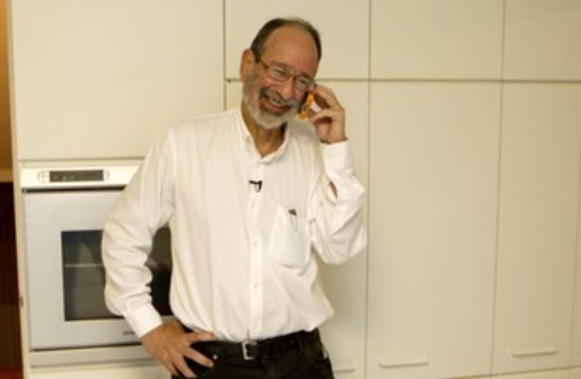 Economics Nobel Prize winner Alvin Roth 370 (photo credit: REUTERS/Norbert von der Groeben)