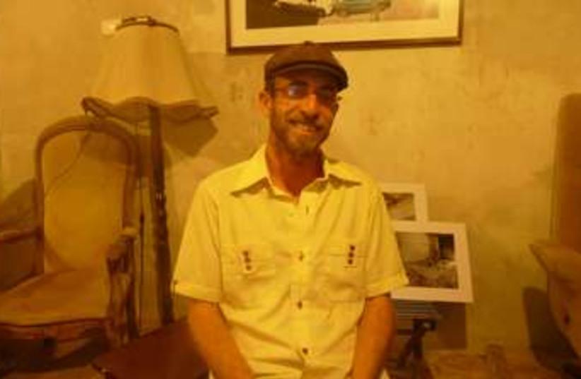 Elyasaf Ish-Shalom, owner of Salon Shabazi 370 (photo credit: iTRAVELJERUSALEM)