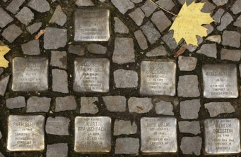 Wandering Jew: Berlin's Yiddish walls  (photo credit: Reuters)