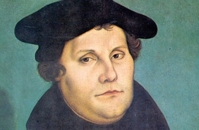 Martin Luther 370 (photo credit: Wikimedia Commons)