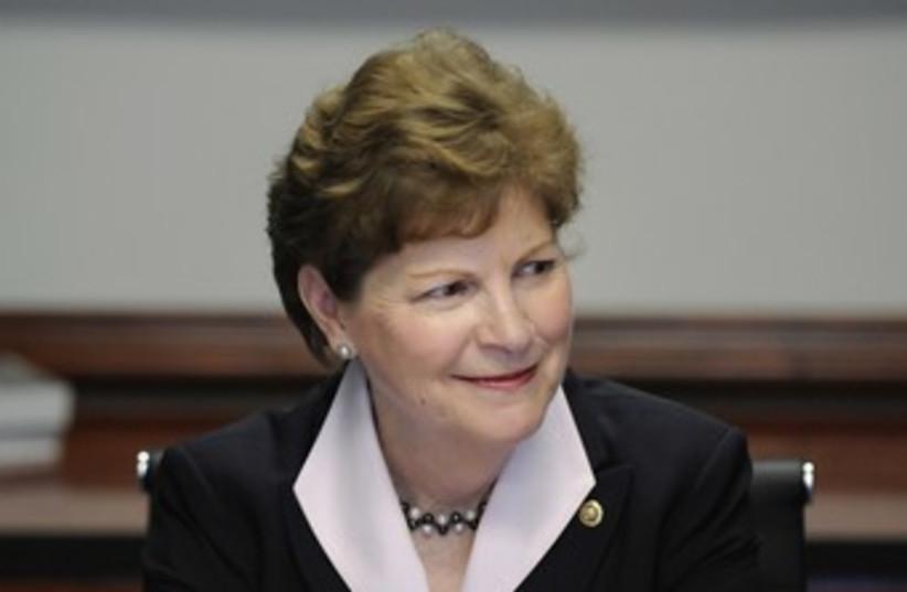 US Senator Jeanne Shaheen 370 (R) (photo credit: Jonathan Ernst / Reuters)