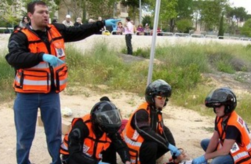 Paramedic 370 (photo credit: United Hazala)