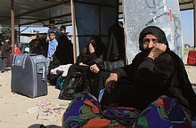 Rafah border  224.88 (photo credit: AP)