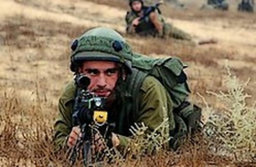 reservists train 224.88 (photo credit: IDF)