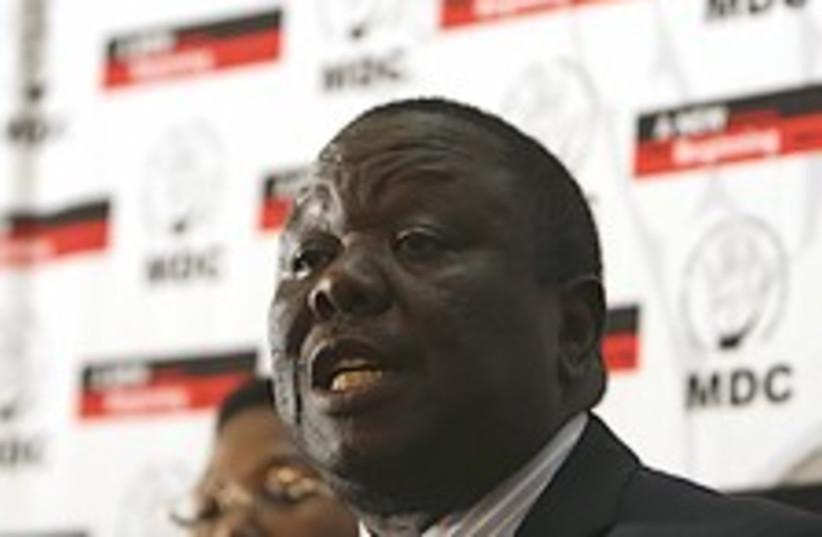 Tsvangirai 224.88 (photo credit: AP)