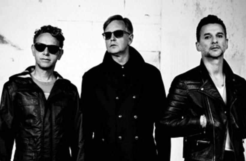 Depeche Mode 390 (photo credit: Courtesy)