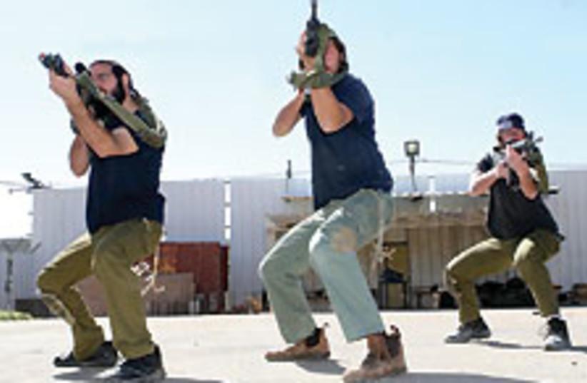 Chabad militia 88 224 (photo credit: Ariel Jerozolimski)