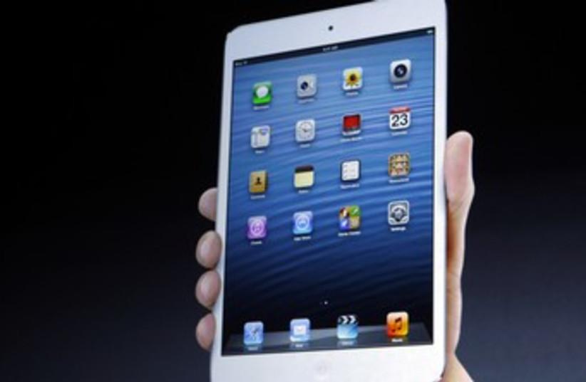 iPad mini (photo credit: REUTERS/Robert Galbraith)