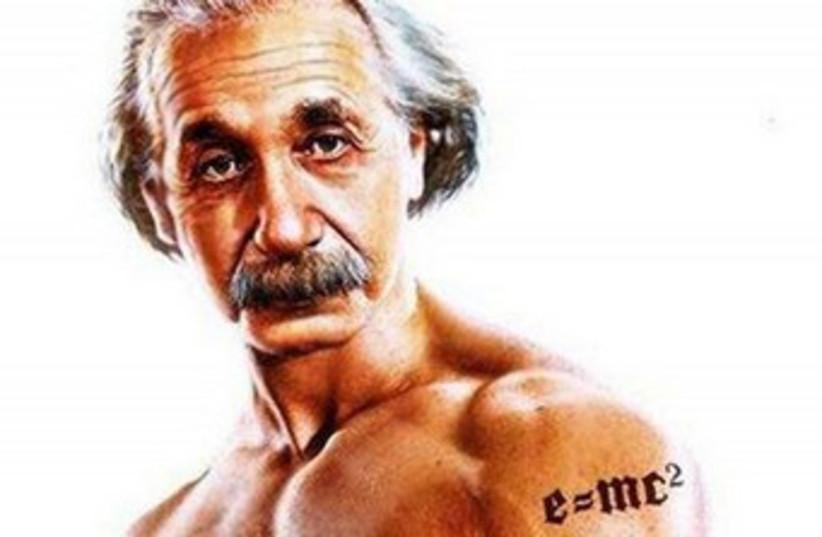 Albert Einstein sexy 370 (photo credit: Ad for GM Terrain)