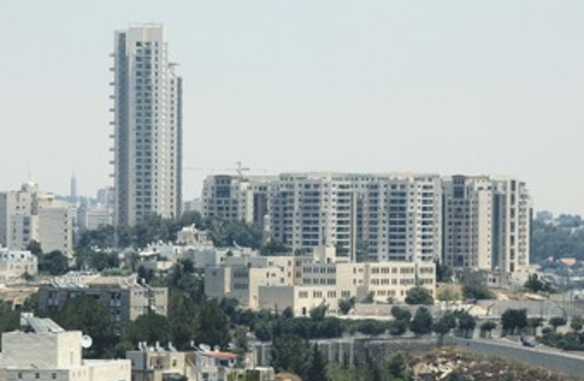 The Holyland Tower in Jerusalem 370 (photo credit: Marc Israel Sellem/The Jerusalem Post)