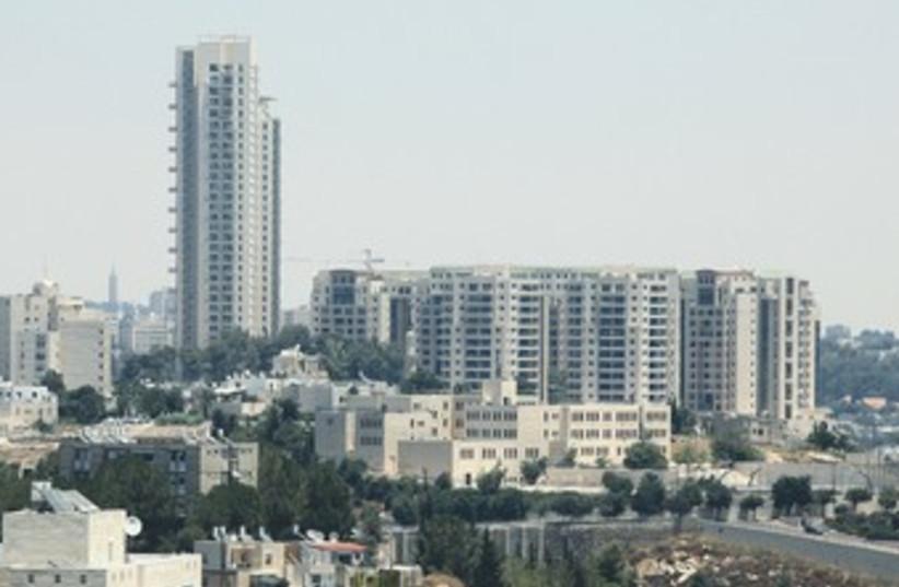 The Holyland Tower in Jerusalem 370 (photo credit: Marc Israel Sellem/The Jerusalem Post)