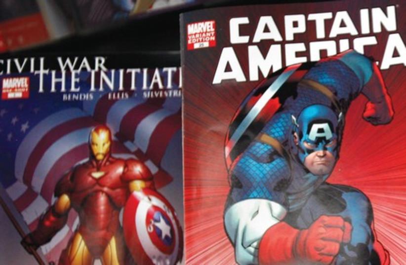 Captain America comics 521 (photo credit: Reuters)