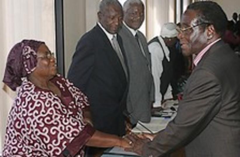 Mugabe scum 224.88 (photo credit: AP)