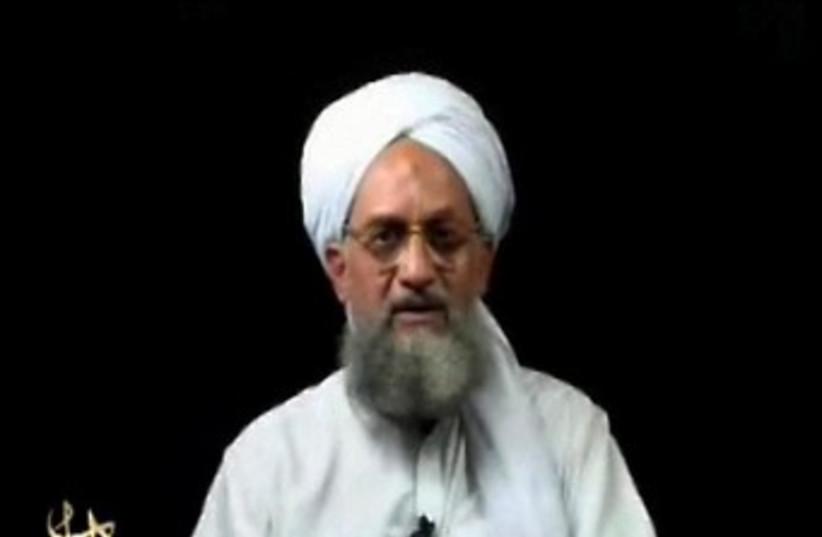 Ayman al-Zawahiri (photo credit: REUTERS/Reuters TV)