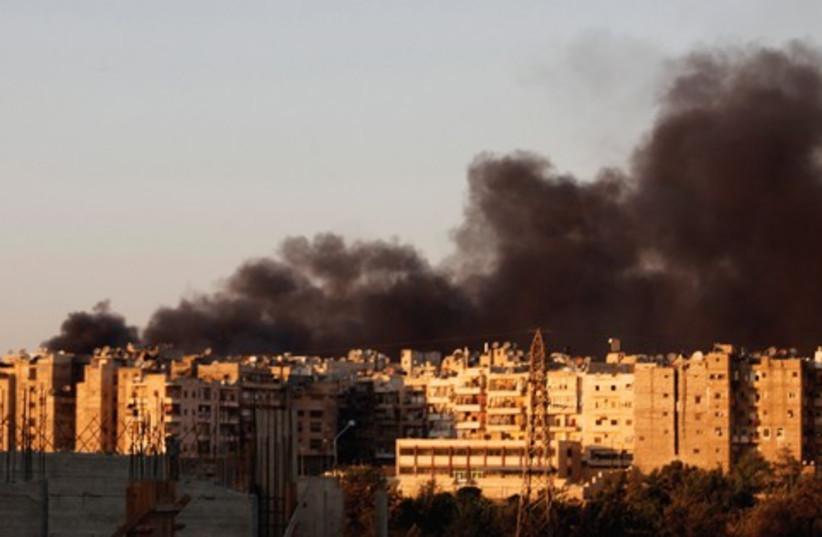 Aleppo 521 (photo credit: Reuters)