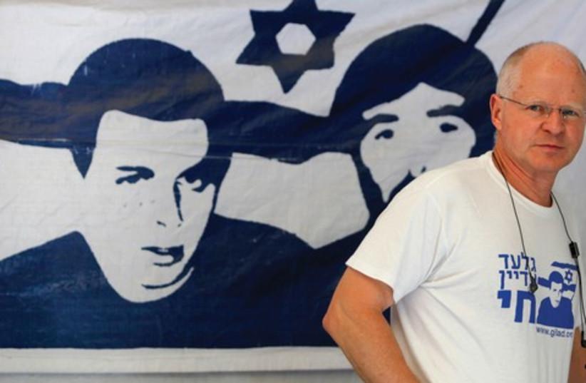 Noam Shalit 521 (photo credit: BAZ RATNER)