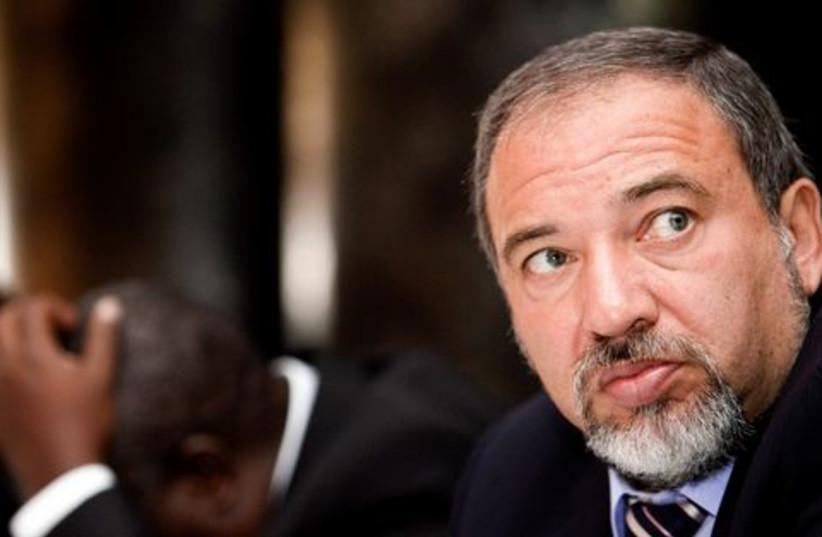 Avigdor Liberman 521 ok (photo credit: Reuters)