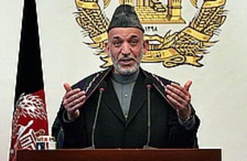karzai 224 88 (photo credit: AP)
