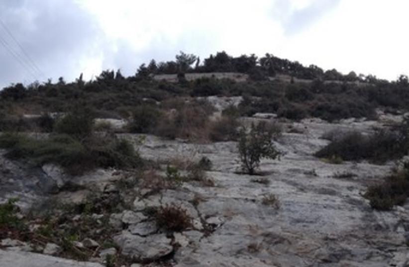 Elijah's cave (photo credit: Courtesy)