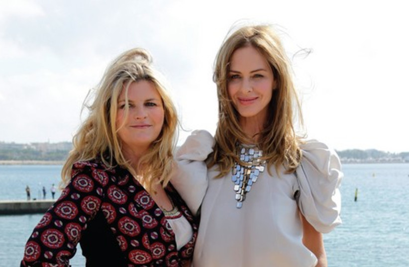Susannah Constantine (left) and Trinny Woodall 521 (photo credit: Reuters)